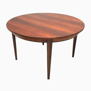 Mid-Century Model 55 Rosewood Extendable Dining Table by Gunni Omann from Omann Jun, 1960s