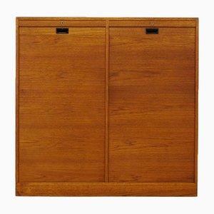 Vintage Teak Veneer Cabinet from BS Møbelfabrik, 1960s