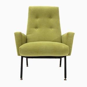 Grüner italienischer Mid-Century Sessel, 1950er