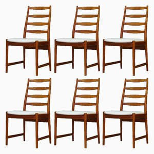 Vintage Teak Chairs from Vamø, 1960s, Set of 6