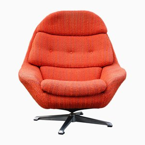 Vintage Swivel Lounge Chair, 1970s