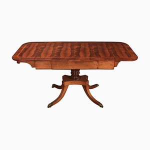 Table Console Style Regency en Palissandre, 1880s