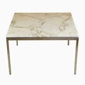 Calacatta Marble Coffee Table by Florence Knoll for Knoll Inc. / Knoll International, 1960s