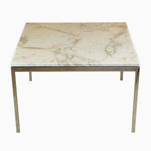 Couchtisch mit Tischplatte aus Calacatta-Marmor von Florence Knoll für Knoll Inc. / Knoll International, 1960er