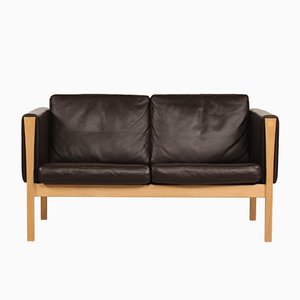 Vintage CH 162 Sofa by Hans J. Wegner for Carl Hansen & Søn, 1990s