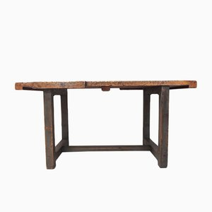 Industrial Workbench or Dining Table, 1950s