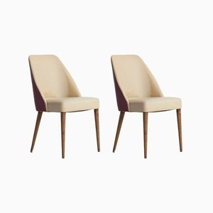 Mid-Century Italian Side Chairs from Cassina, 1958, Set of 2