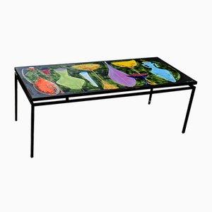 Table Basse Mid-Century en Céramique par Juliette Belarti, 1950s