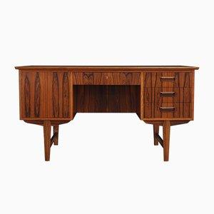 Vintage Rosewood Veneer Desk by Gunnar Nielsen Tibergaard, 1970s