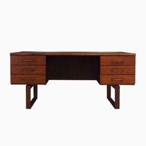 Vintage Rosewood Desk by Henning Jensen & Torben Valeur for Munch Mobler, 1970s