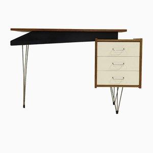 Mid-Century Schreibtisch mit Hairpin-Beinen von Cees Braakman für Pastoe, 1950er