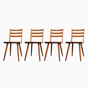 Vintage Boomerang Dining Chairs, 1950s, Set of 4