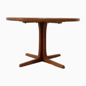 Mesa de comedor extensible de teca de Svend Åge Madsen, años 60