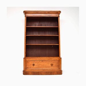 Antique Victorian Satinwood Bookcase