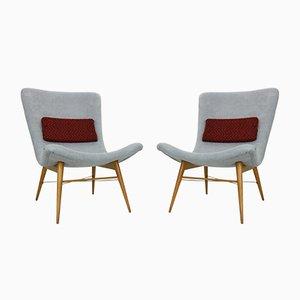 Lounge Chairs by Miroslav Navratil for Cesky Nabytek, 1950s, Set of 2