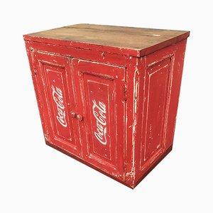Mueble de Coca-Cola pequeño, años 50
