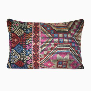 Cicim Lumbar Kilim Pillow Cover from Vintage Pillow Store Contemporary
