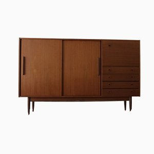 Vintage Highboard aus Teak, 1960er