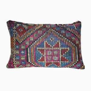 Wool Geometrical Kilim Pillow Cover from Vintage Pillow Store Contemporary