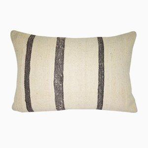 Funda de almohada minimalista de cáñamo de Vintage Pillow Store Contemporary
