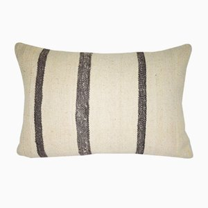 Minimalist Hemp Pillow Cover from Vintage Pillow Store Contemporary