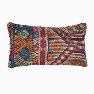 Embroidered Kilim Pillow Cover from Vintage Pillow Store Contemporary