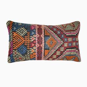 Funda de almohada de kilim bordada de Vintage Pillow Store Contemporary