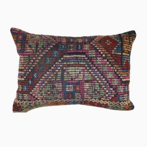 Handbestickter türkischer Vintage Kissenbezug von Vintage Pillow Store Contemporary
