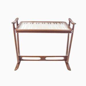 Tavolino in teak laccato di Cesare Lacca per Cassina, anni '50