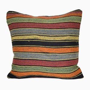 Federa Kilim a righe di Vintage Pillow Store Contemporary, Turchia