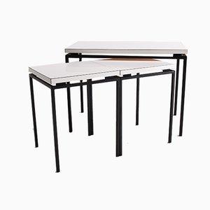 Tavolini ad incastro Mid-Century, Svizzera, anni '60, set di 3