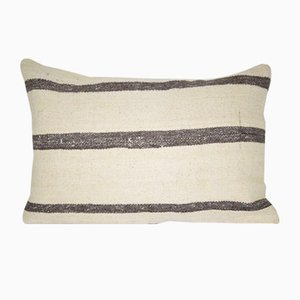 Anatolian Wool Kilim Pillow Cover from Vintage Pillow Store Contemporary
