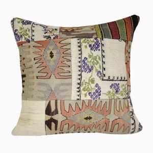 Funda de patchwork vintage de Pillow Store Contemporary