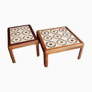 Mesas de centro vintage con azulejos de G-Plan. Juego de 2