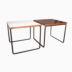 Bewegliche Mid-Century Tische von Pierre Guariche für Steiner, 1950er, 2er Set