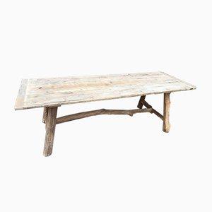 Mesa vintage de madera del mar