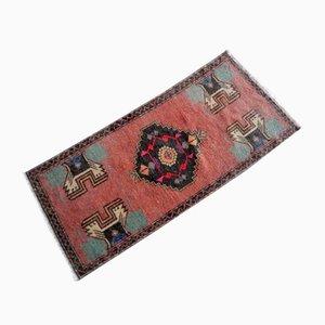 Handgefertigter türkischer Vintage Wollteppich, 1970er