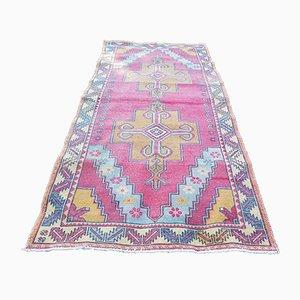 Turkish Handmade Oushak Wool Carpet, 1970s