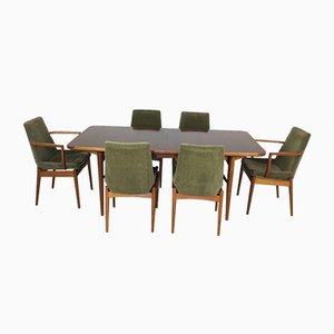 Mid-Century Rosewood Dining Table Set by Robert Heritage for Archie Shine, 1960s