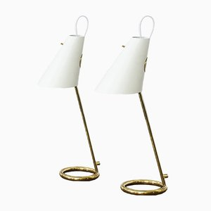 B 90 Table Lamps by Hans-Agne Jakobsson for Hans-Agne Jakobsson AB Markaryd, 1960s, Set of 2