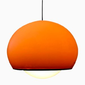Lampe à Suspension Bud Orange par Studio 6G pour Guzzini, 1970s