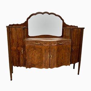 Art Deco Walnut Dressing Table by Meroni e Fossati, 1930s