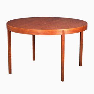 Mid-Century Danish Teak Dining Table from Hornslet Møbelfabrik, 1960s