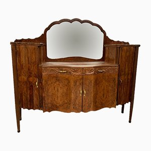 Art Deco Walnut Dressing Table by Meroni e Fossati, 1930s