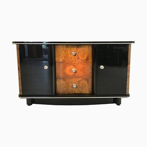 Art Deco French Walnut Commode, 1920s