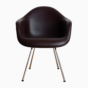 DAX Upholstered Plastic Armchair by Charles & Ray Eames for Herman Miller, 1950s