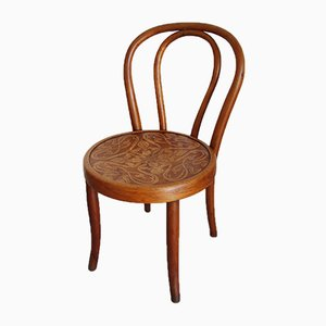 Antique Bentwood Children's Chair from Fischel, 1890s
