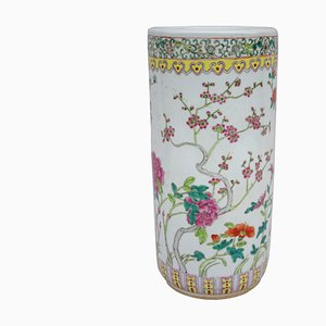 Chinese Porcelain Umbrella Stand, 1950s