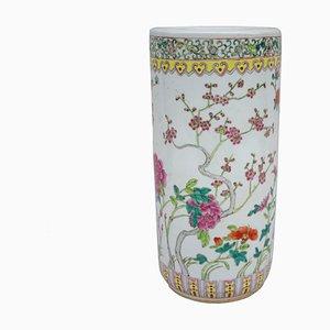 Paragüero chino de porcelana, años 50