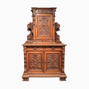 Antique Renaissance Style Cupboard